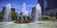 Logan Circle Fountain,Philadelphia