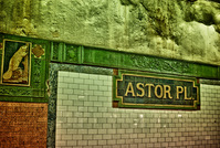 Astor Place,MTA Station,NYC